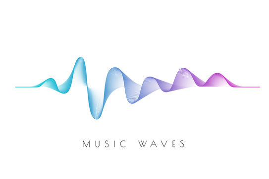 sound waves - music waves -acoustic transparency