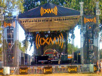 Concert Backdrops for the XM Festival