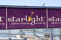 Plastic Roll Banners for Starlight Foundation