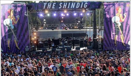 The Shindig Festival Banners
