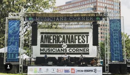 Americanafest Banners and Stage Backdrop