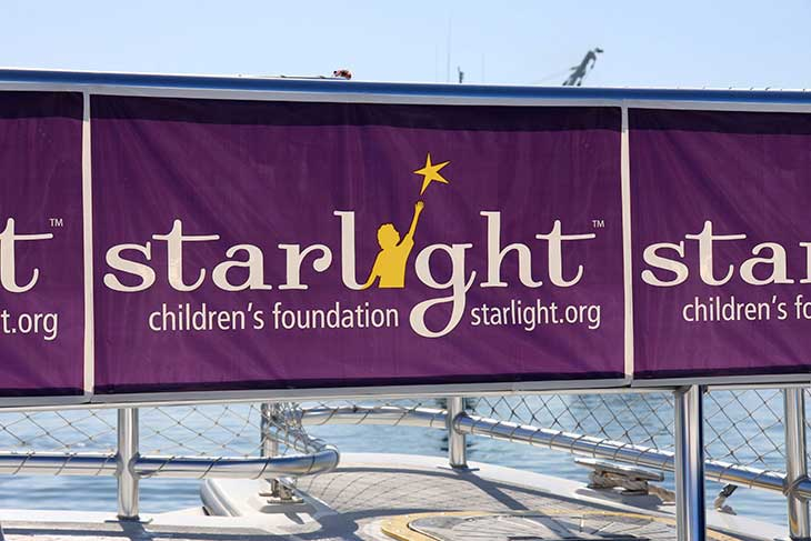 Starlight Foundation - Plastic Roll Banners